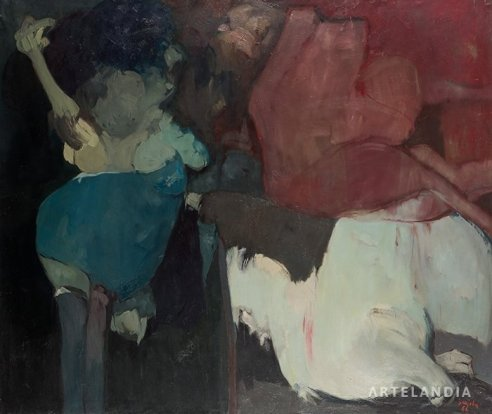Juan Barjola - Composición