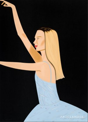Alex Katz - Dancer 2