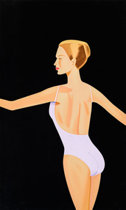 Alex Katz - Dancer 3