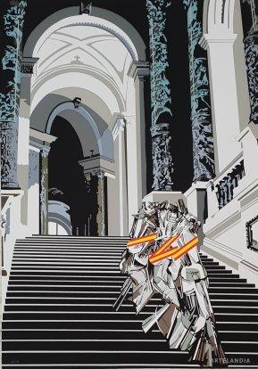 Equipo  Crónica - Desnudo bajando la escalera