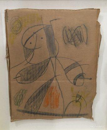 Joan  Miró - Femme, oiseau
