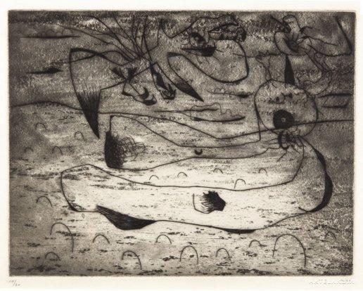 Joan  Miró - LAigle et la Femme la Nuit