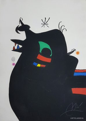 Joan  Miró - Le Maréchal des Logis