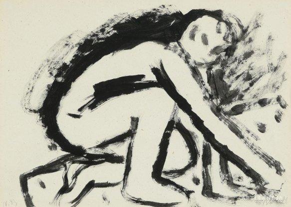 Miquel Barceló - Man painting