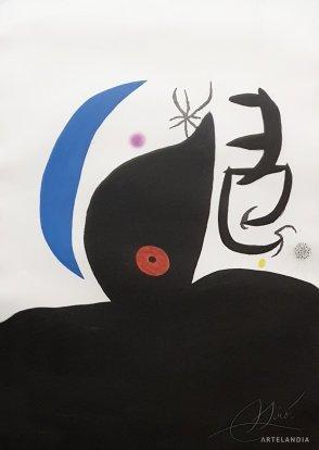Joan  Miró - Otarie Savante