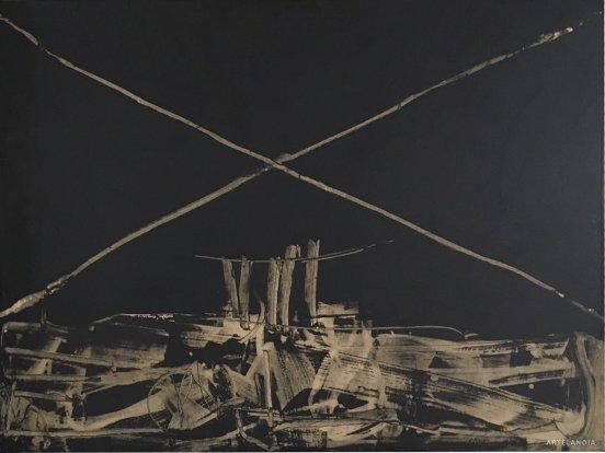 Manolo Millares - Pintura