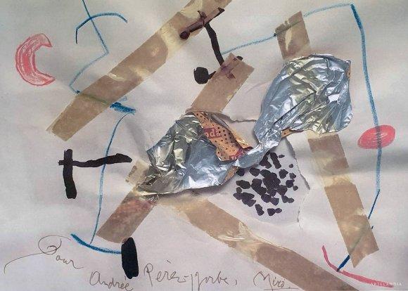 Joan  Miró - Sans titre