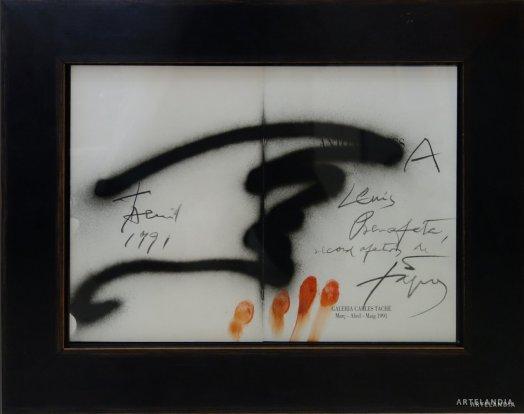 Antoni Tapies - Sense titol