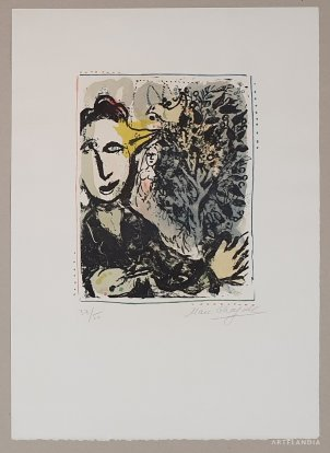 Marc Chagall - The painter bird