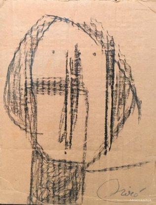 Joan  Miró - Tête