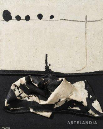 Manolo Millares - Untitled