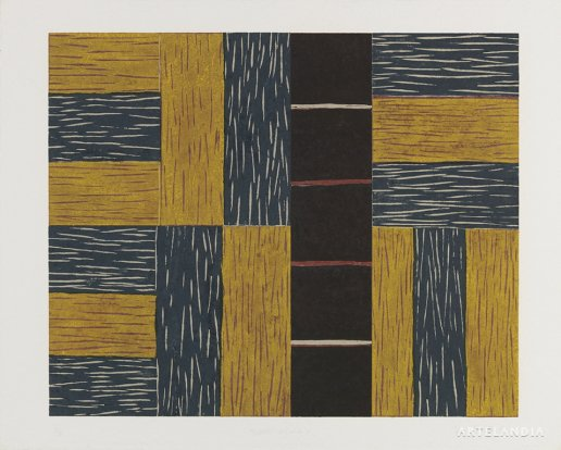 Sean Scully - Yellow Ascending