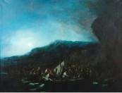 Eugenio  Lucas Velázquez - Desembarco de moros