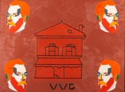Eduardo Arroyo - La casa de Van Gogh