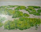 Francisco Lozano - Paisaje verde