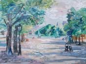 Emilio Grau Sala - Paris. En el parque
