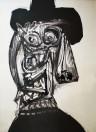 Antonio Saura - Retrato Dora Maar