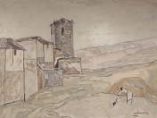 Agustín Redondela - La torre de la iglesia