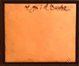Antoni Tapies - Materia sobre tabla