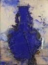 Manolo  Valdes - Vasija china azul